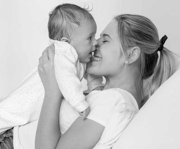 Biodynamisk kranio-sakral terapi for mor og barn